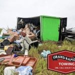 belongings before Grand Rapids Tow Truck