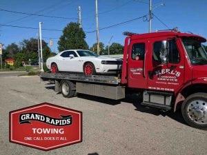 Grand Rapids Wrecker Service for Dodge Challenger