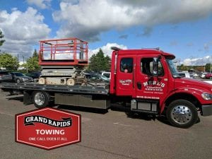 Towing Grand Rapids with Lift